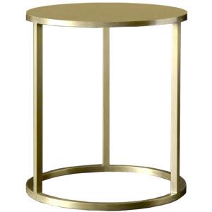 Mesa lateral de apoyo Nes dorado 40×50