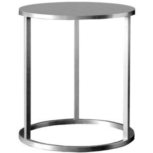 Mesa lateral de apoyo Nes plata 40×50